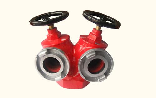 深圳消防器材――SNSS65型双阀双出口室内消火栓
