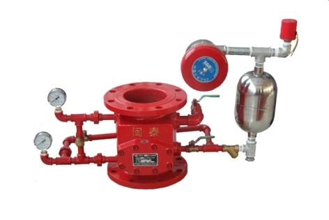 深圳消防器材――ZSFZ型湿式报警阀